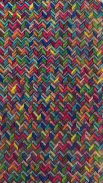 Transferfolie- Multicolor Gewebe