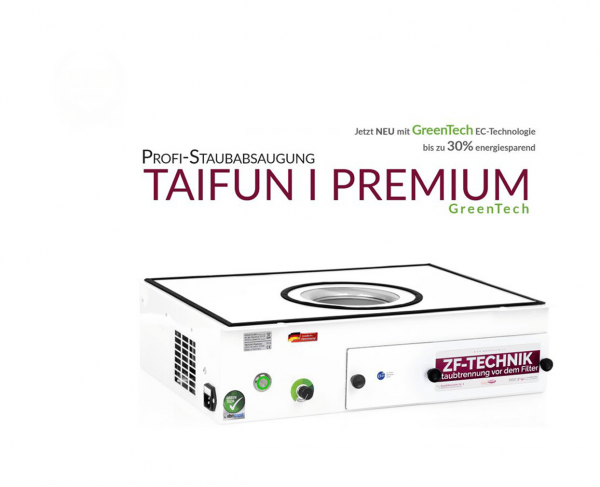 Profi-Staubabsaugung Taifun 1 Premium GreenTech
