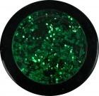 Glitter grob - grün